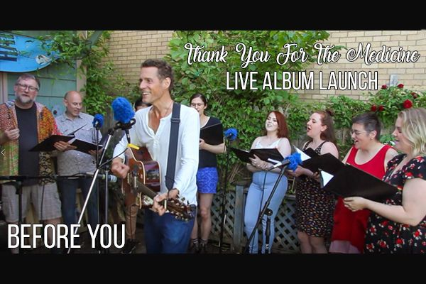 Jont - Before You / Live Video from Thank You For The Medicine Album Launch