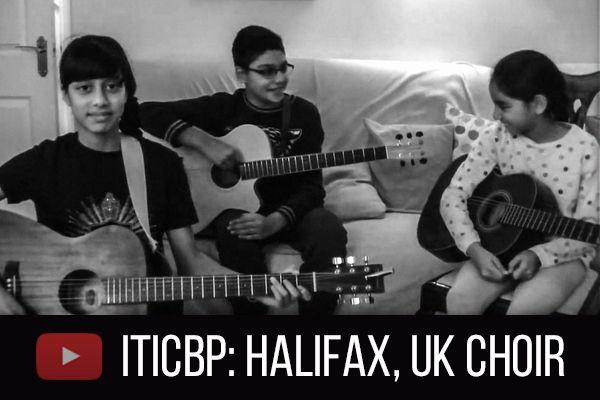 ITICBP Halifax, UK Choir!