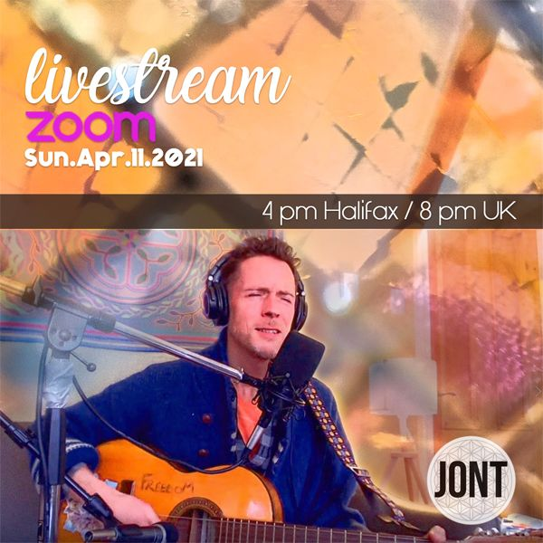 Jont April 11, 2021 Zoom Livestream