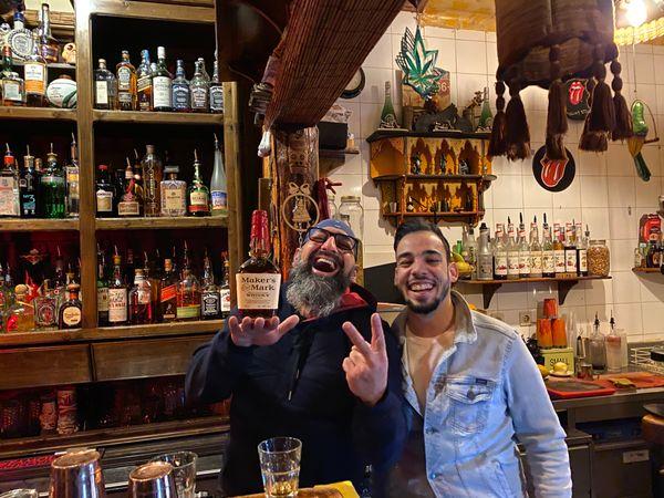 Joe Martini and Jonathan in Bar do Concelho