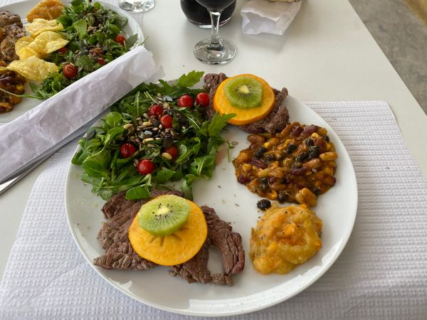 Lunch at Tretas e Olés