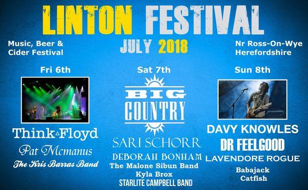 Linton Festival Poster 2018